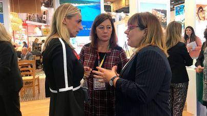 Frontera conversa con la presidenta y vicepresidenta en la World Travel Market