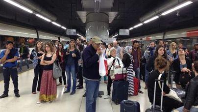 Desalojan las estaciones de Sants y Atocha por amenaza de bomba