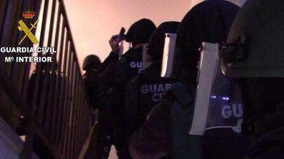 Catorce detenidos entre Barcelona y Valladolid por introducir grandes cantidades de cocaína en Mallorca