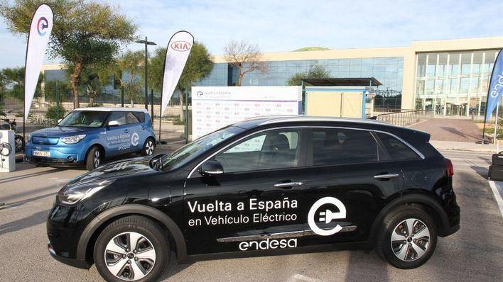 Mallorca acoge la novena etapa de la Vuelta a España en vehículo eléctrico