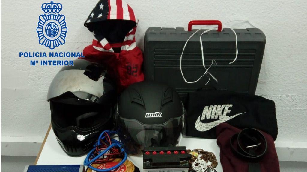 Detenido un ruso de 24 años por robar en motos de Santa Catalina