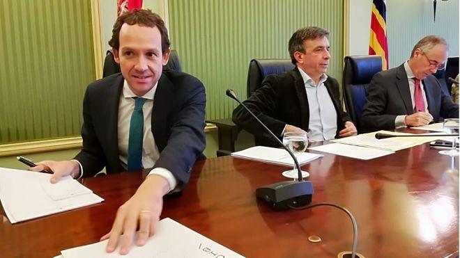 El conseller Marc Pons ha anunciado las inversiones