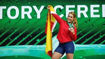 Lydia Valentín se proclama campeona del mundo de la categoría de 81 kilos