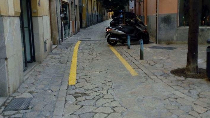 Cort se disculpa ante ARCA y borrará las rayas de la calle de la Pau
