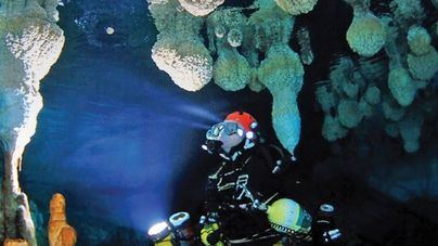 Las cuevas sumergidas de Mallorca aportan datos sobre el cambio climático