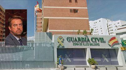 El exjefe de seguridad de Rajoy, nuevo jefe de la Guardia Civil en Baleares