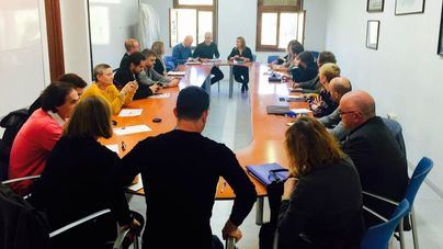 Reunión del Consell con sindicatos, federaciones y asociaciones