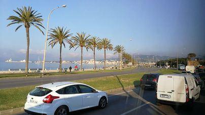 Nubes y ascenso de temperaturas en Mallorca