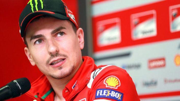 Jorge Lorenzo sobre su futuro en Honda: 'Ahora solo pienso en rojo'