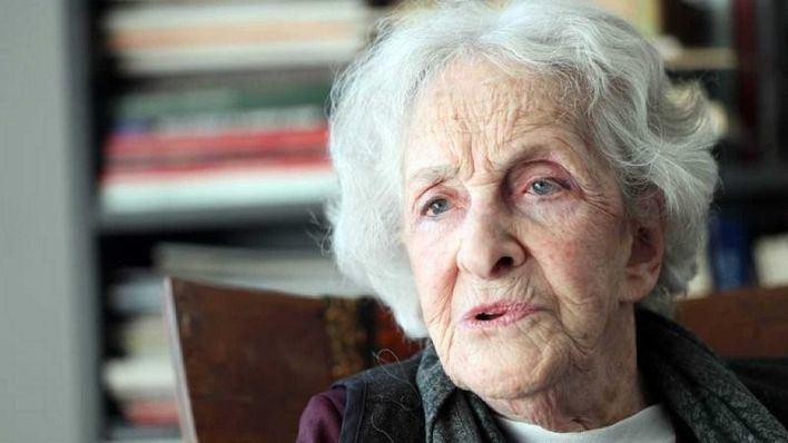 La poeta uruguaya Ida Vitale, Premio Cervantes