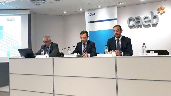 CAEB y BBVA explican el análisis de riesgos financieros en la concesión de créditos a las pymes