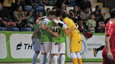 El Palma Futsal recupera el liderato tras golear 5-0 al Naturpelle Segovia