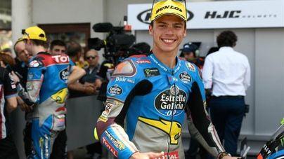 Joan Mir es coronado 'rookie' del año en Moto2