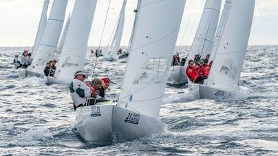 "El ""Goldkante"" gana la segunda regata de la Dragon Winter Series de Puerto Portal"