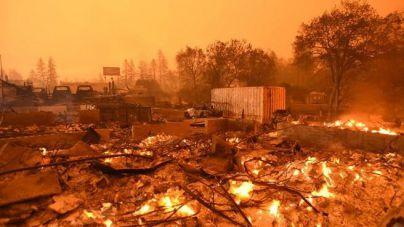 Los incendios de California suman 79 muertos y 1.300 desaparecidos