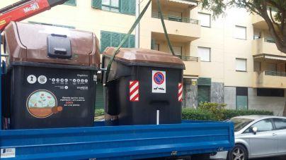 Emaya instala 35 contenedores de recogida de materia orgánica