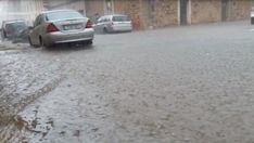 Las lluvias fueron intensas en la zona de Campos