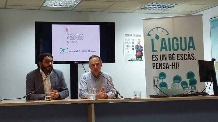 El conseller Vidal y Mar Blava piden a Pedro Sánchez que no vete la ley contra las prospecciones
