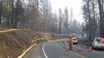 Suben a 83 los muertos en el incendio de California y bajan los desaparecidos
