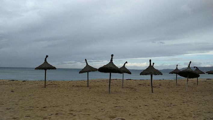 Nubes por la tarde con probabilidad de algún chubasco en Mallorca