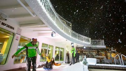 Trasmediterránea acerca las estaciones de esquí a Mallorca