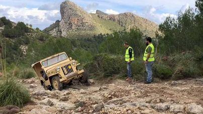El GOB denuncia los 'destrozos' en los caminos de la Tramuntana
