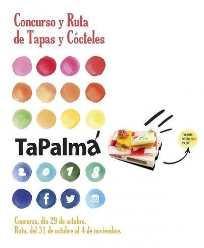 Hasta 22 aspirantes competirán en el concurso de tapas y cócteles TaPalma 2018