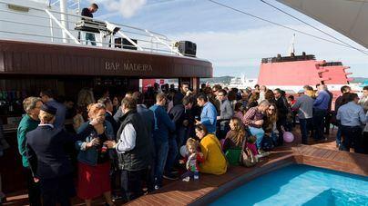 Trasmediterránea presenta la línea de ferry entre Gandia, Ibiza y Palma