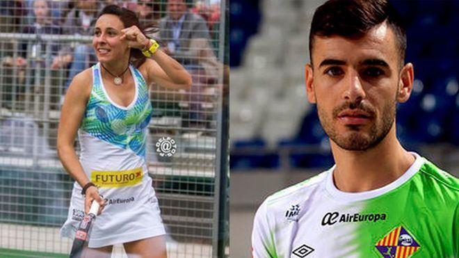 Sandra Hernández y Eloy Rojas, padrinos del VII Torneo COPE Indoor PADEL GO IN