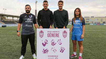 El Atlético Baleares se suma al Día Mundial Contra la Violencia de Género