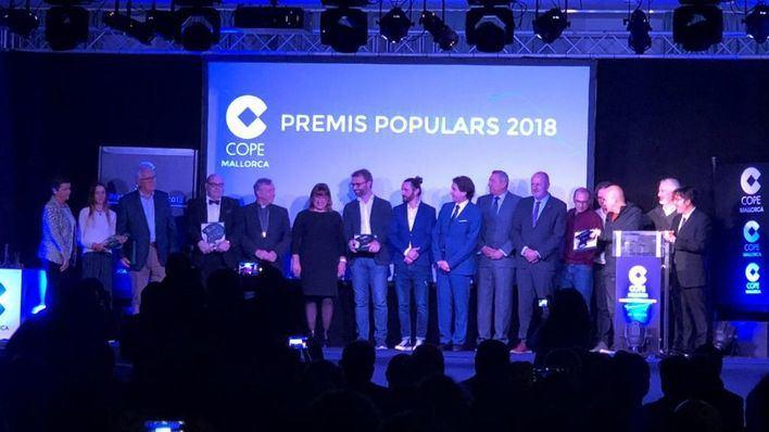 Cope Mallorca entrega los 'Premis Populars 2018'