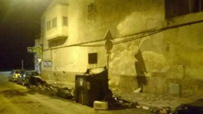 El pirómano actúa de nuevo: contenedores calcinados en s'Arenal