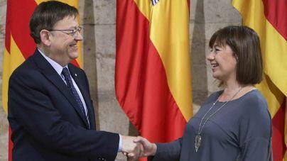 Armengol se reúne en Palma con Ximo Puig