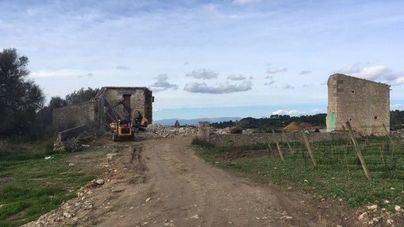 ARCA denuncia la 'grave destrucción' de la 'possessió' del Rafal Franc de Montuïri