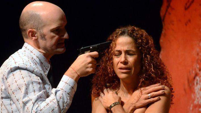 Jhardi en un momento de la representación