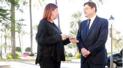 Armengol y Puig reivindican en Palma la mejora de la financiación autonómica 'gobierne quien gobierne'