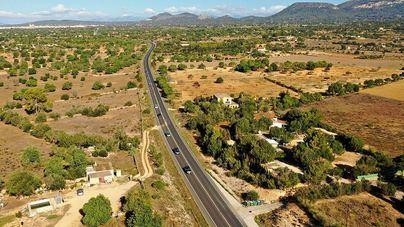 El Consell recula y reduce diez metros el ancho de la autovía Llucmajor-Campos