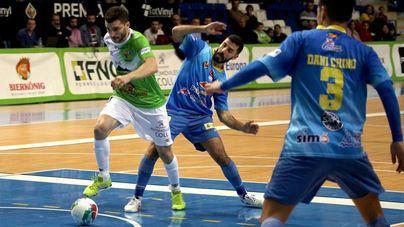 El Palma Futsal guarda el liderato y se clasifica para la Copa de España