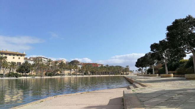 Sol y ligera subida de temperaturas hoy en Mallorca