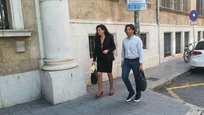 Jaume Garau llegando a los juzgados