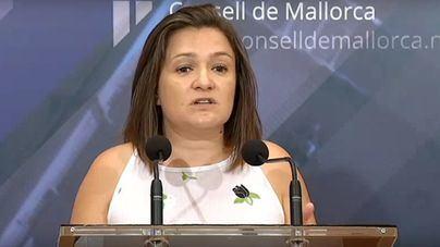 Mercedes Garrido, responsable de Carreteras del Consell de Mallorca