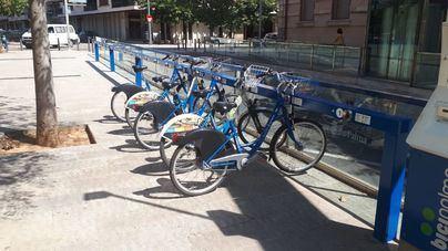 Alquilarán dos locales en Palma para aparcamientos de bicicletas