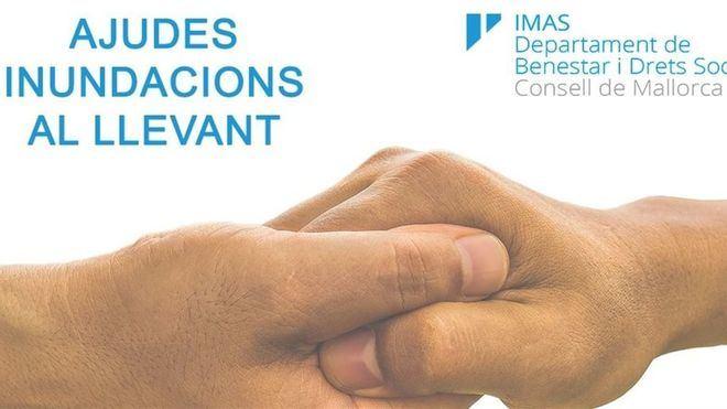 El IMAS abre este lunes el plazo para solicitar las ayudas económicas por las inundaciones del Llevant