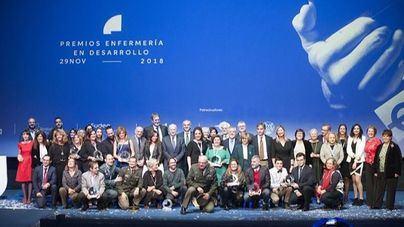 Tolo Villalonga y Clara Vidal, premio Enfermería en Desarrollo 2018