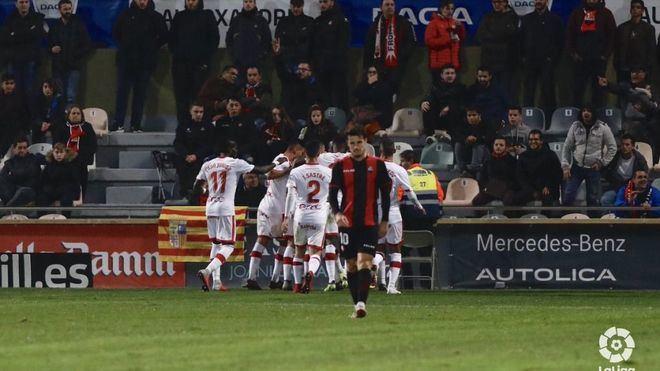 El Mallorca gana 0-2 contra el Reus en tierras catalanas