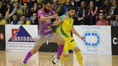 El Palma Futsal empata con el Jaén Paraíso Interior en la Salobreja