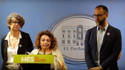 Més pide a PSIB y Podem el derecho de autodeterminación