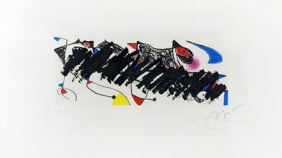 Subastan obras de Miró para los damnificados de las inundaciones del Llevant