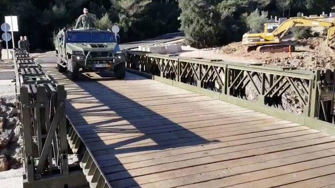 Se reabre al tráfico el puente militar de Artà con una circulación provisional en un único sentido