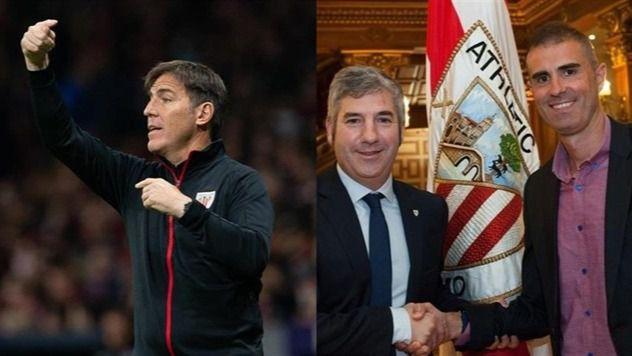 El Athletic destituye a Berizzo y Garitano será el nuevo entrenador